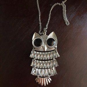 Bohemian Owl Necklace